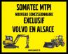 Somatec devient votre nouveau concessionnaire Volvo compact en Alsace et sur le Territoire de Belfort